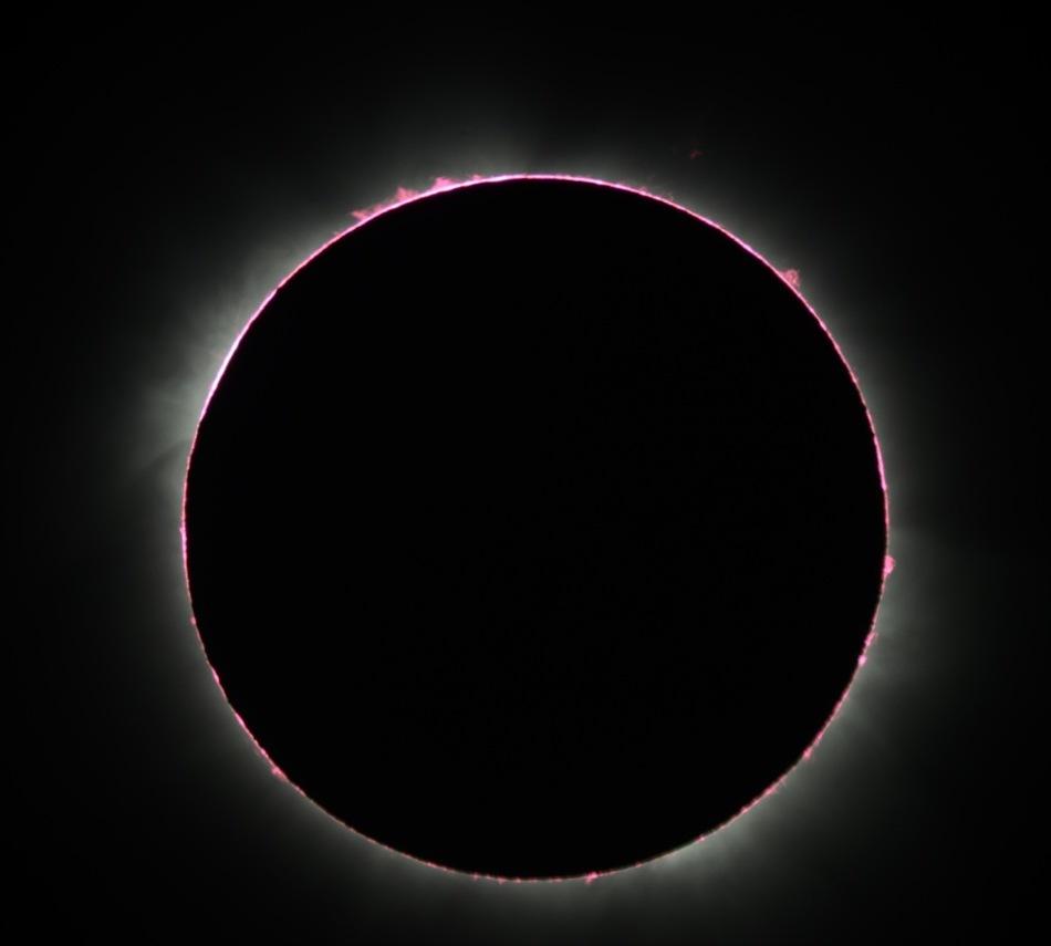 Eclipse de Soleil en Ouganda