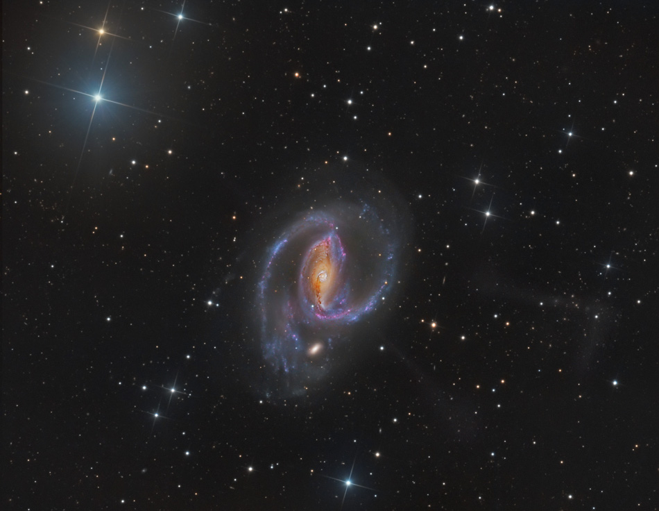 Les jets de NGC 1097