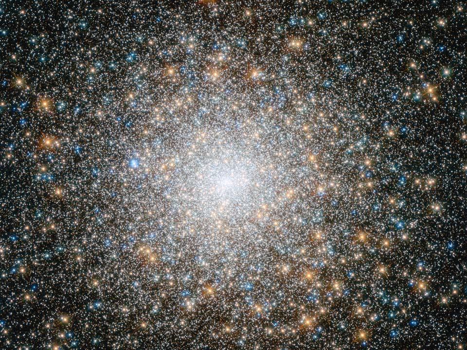 L\'amas globulaire M15 vu par Hubble