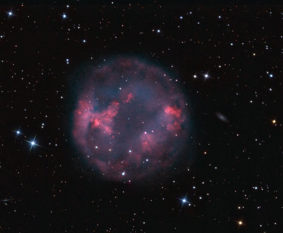 La nébuleuse planétaire Abell 7
