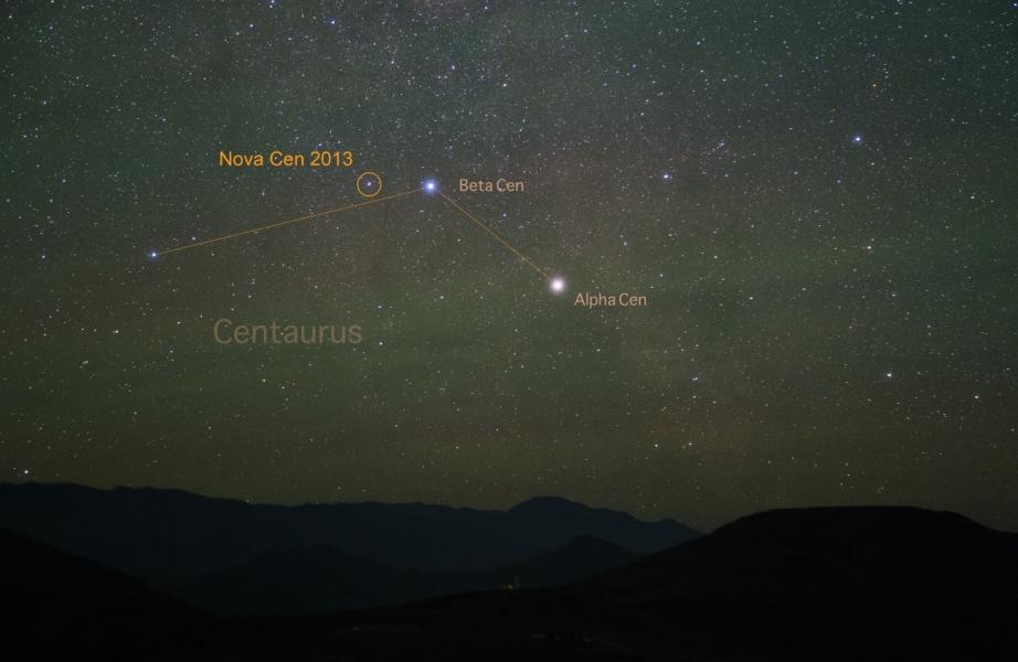 Nova dans le Centaure