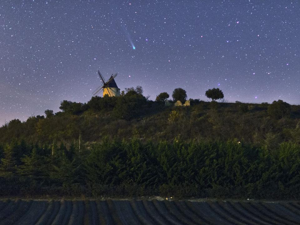 La comète Lovejoy vue depuis la France