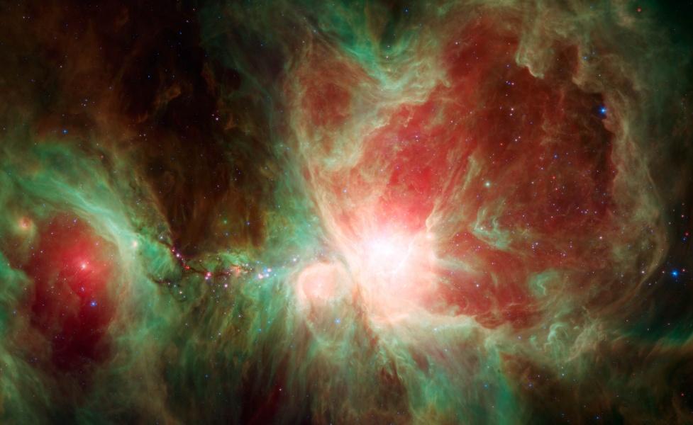 La nébuleuse d\'Orion vue par Spitzer