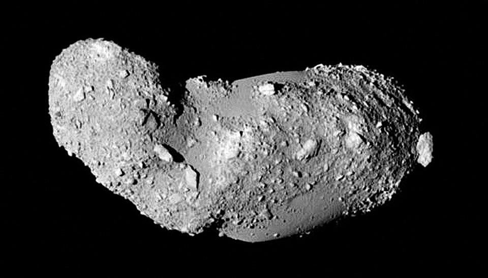 Que sont les cratères d\'Itokawa devenus ?