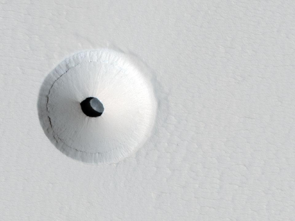 Gouffre sur Mars