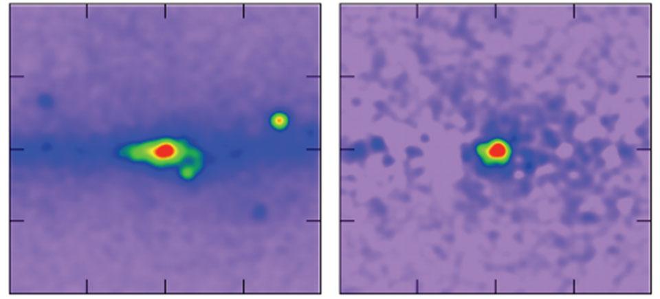 La matière noire du centre galactique ?