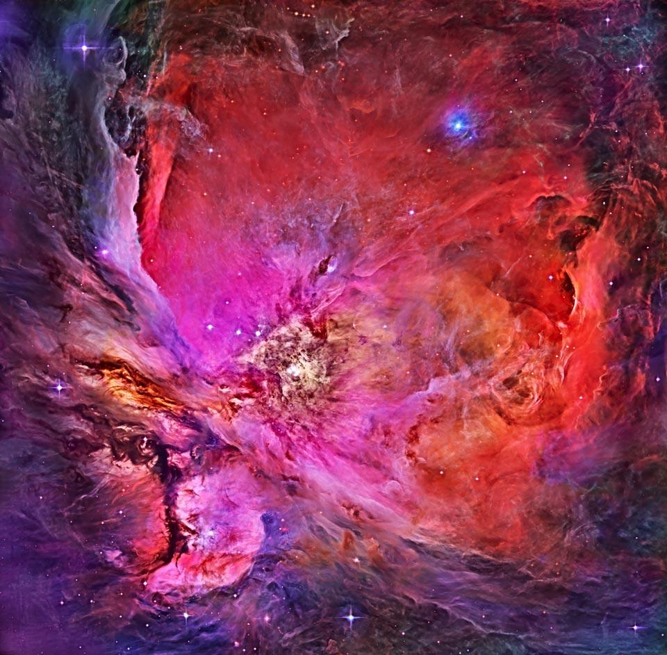 En plein dans la nébuleuse d\'Orion