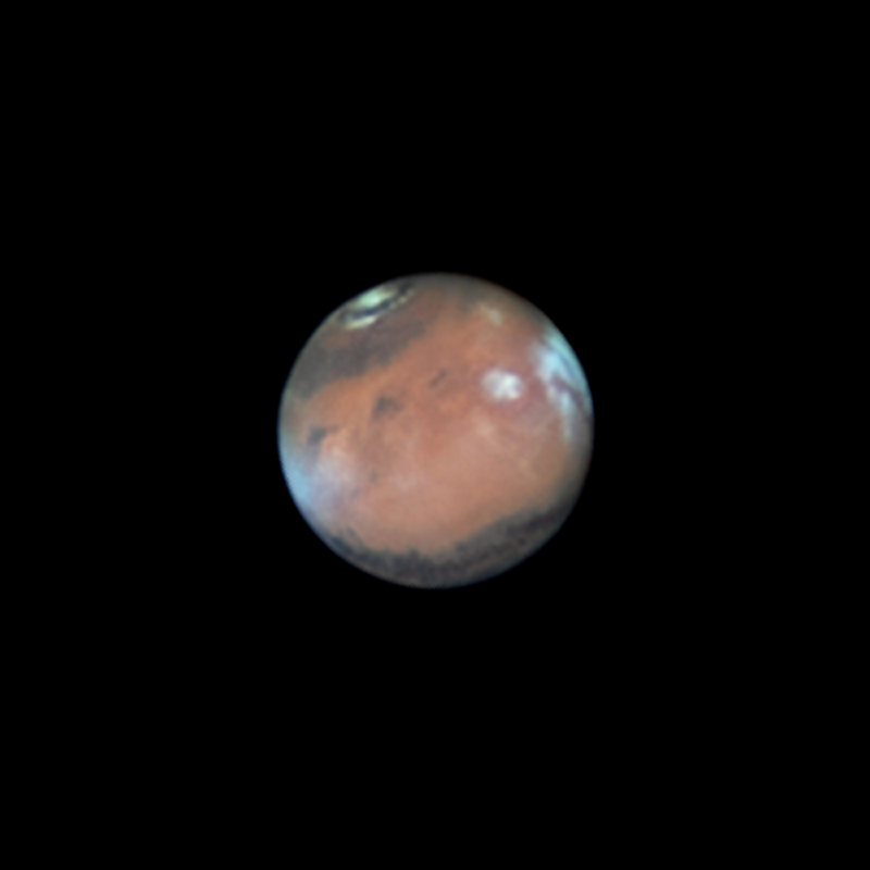 Mars au voisinage de l\'opposition