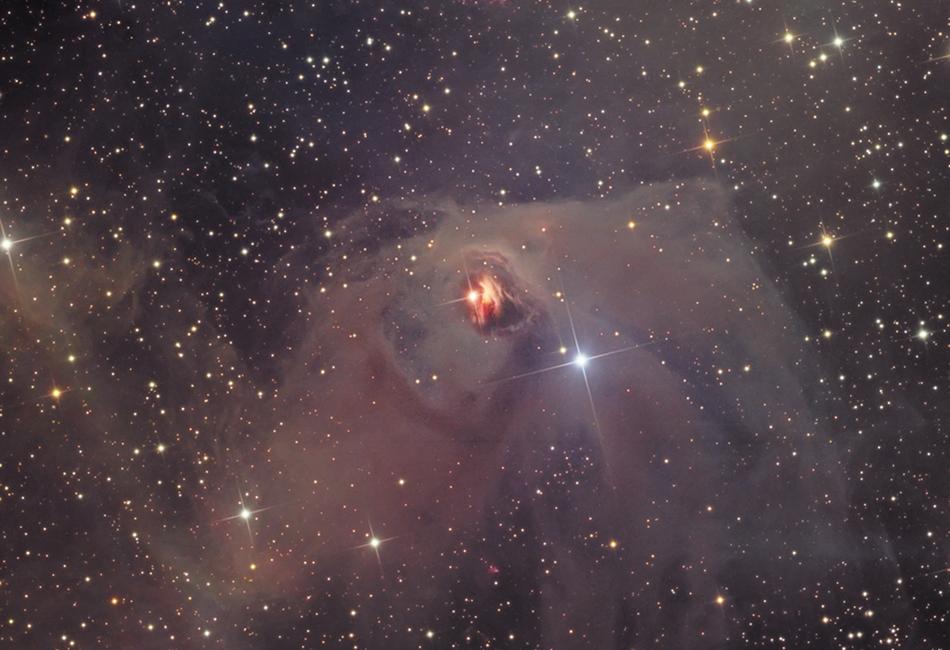 T Tauri et la nébuleuse variable de Hind
