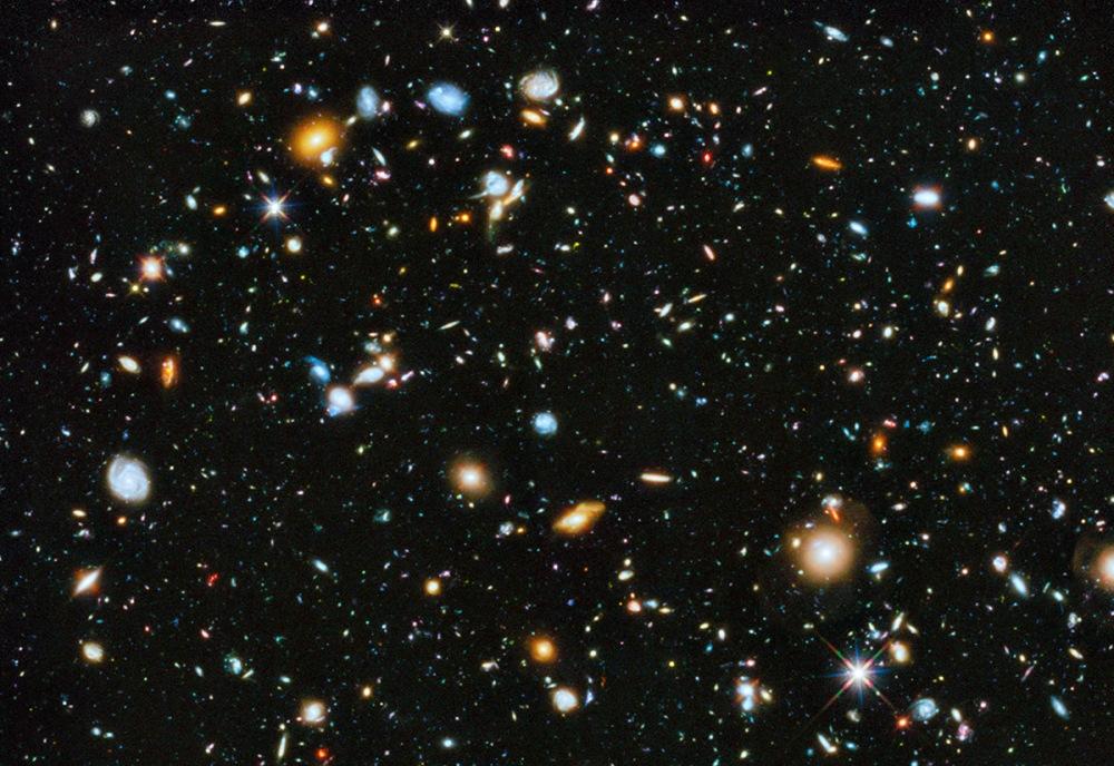 Mise à jour du champ ultra profond d\'Hubble
