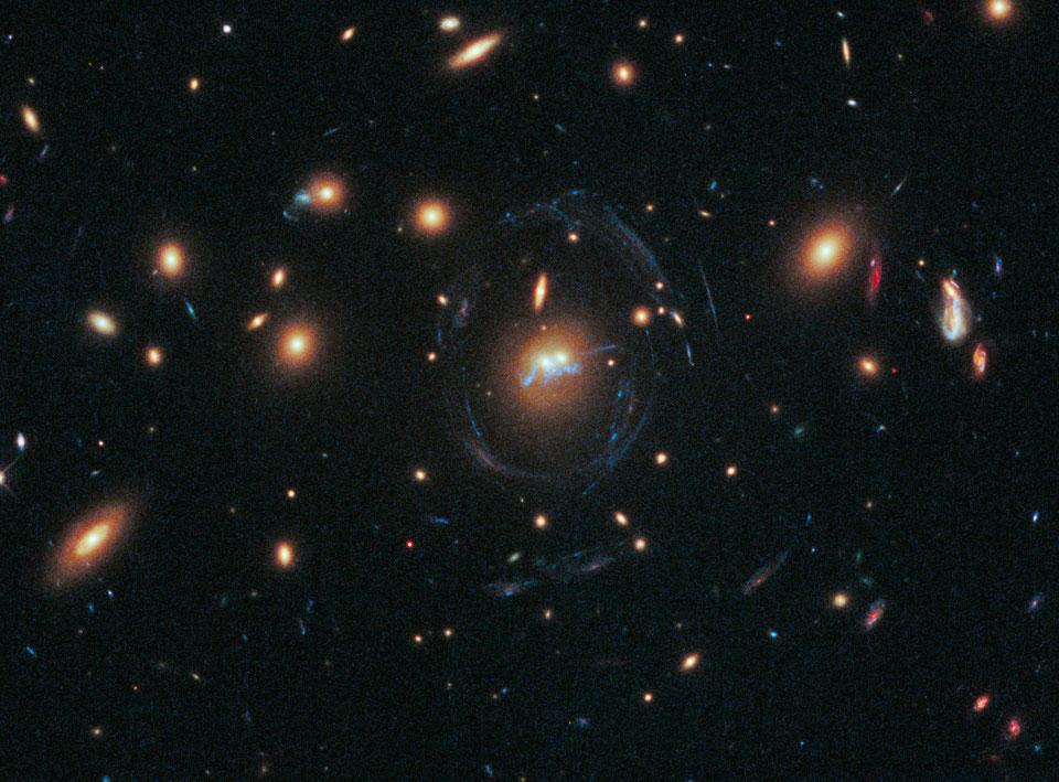 Un pont entre galaxies