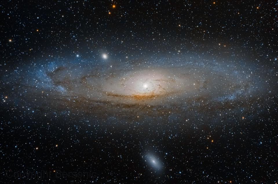 La grande galaxie d\'Andromède