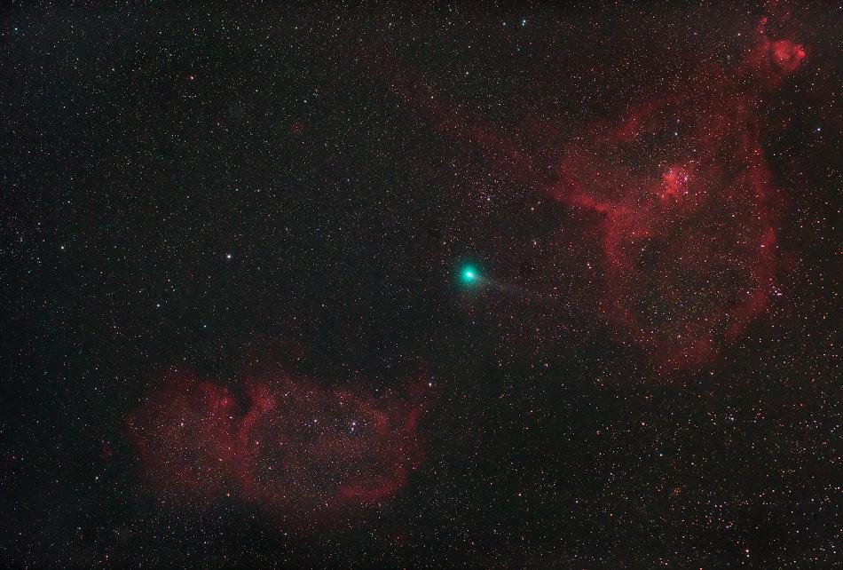 La comète Jacques dans Cassiopée