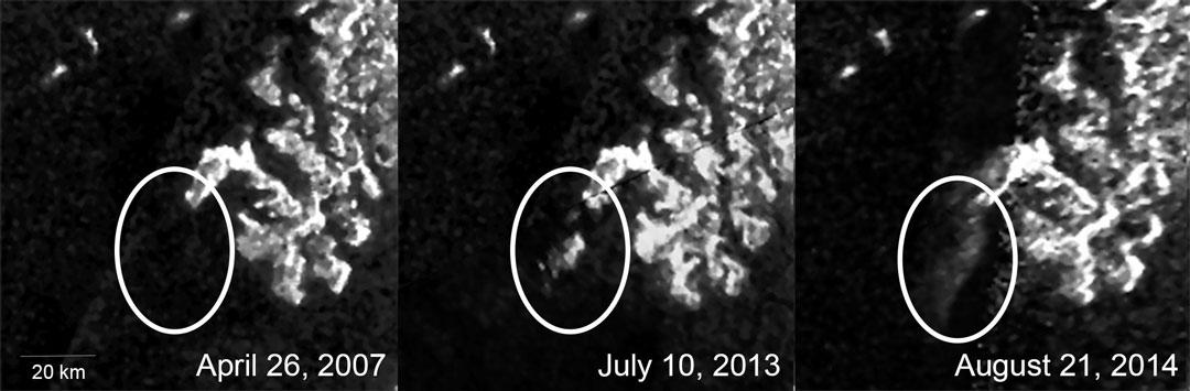 Chose mystérieuse sur Titan