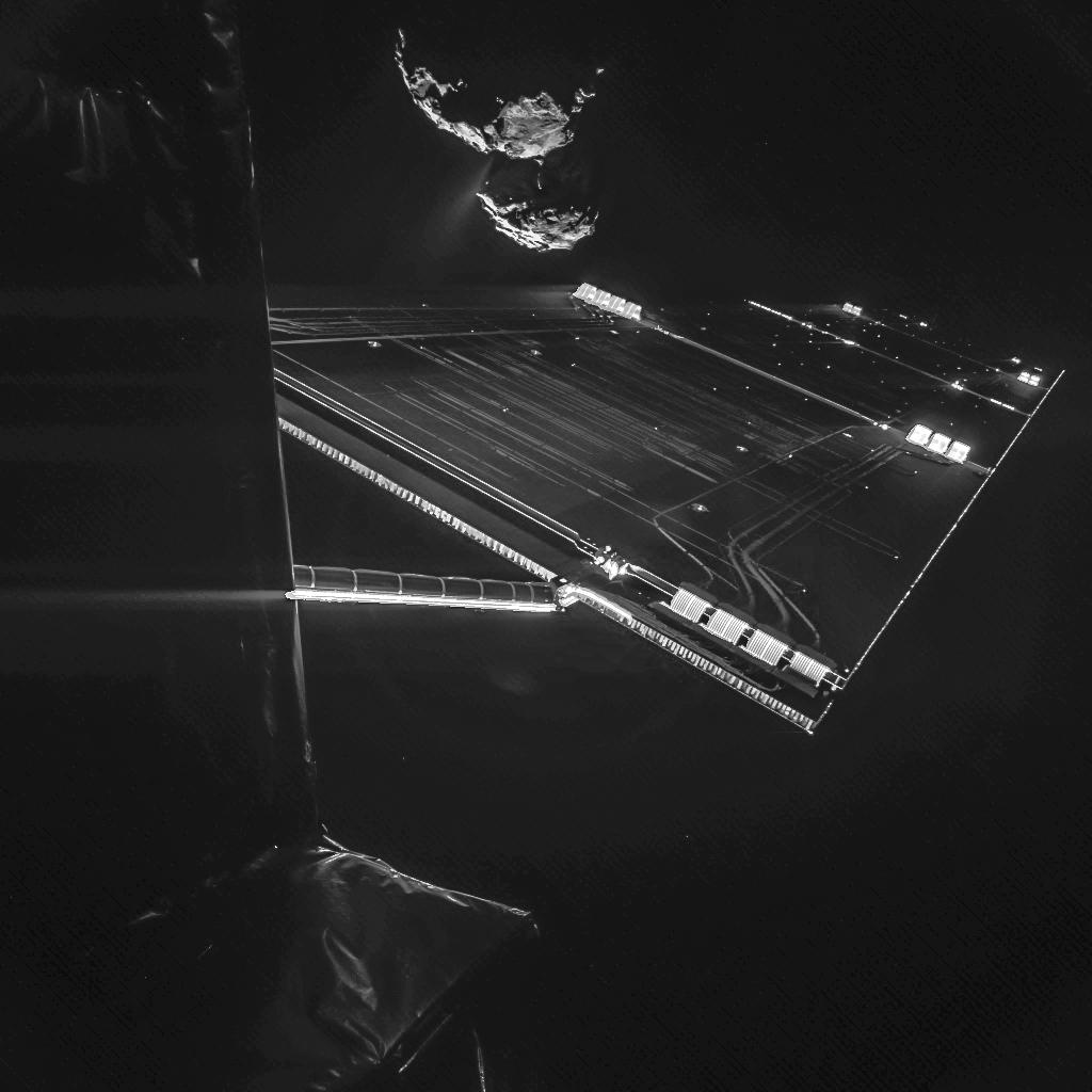 Selfie de Rosetta