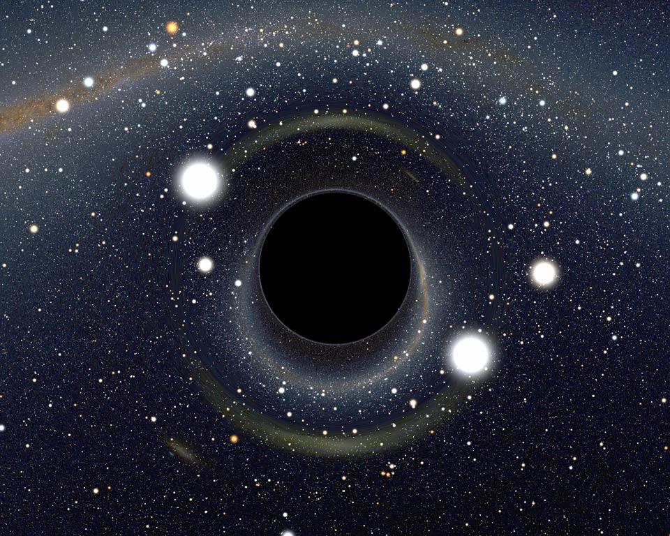 Trop près d\'un trou noir