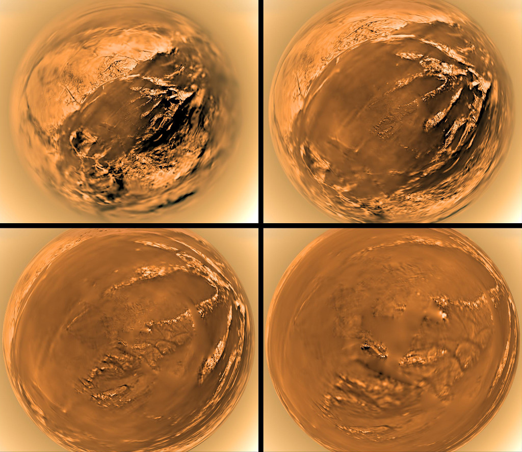 Huygens se pose sur Titan