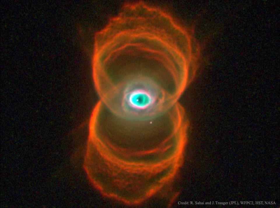 MyCn18, nébuleuse planétaire sablier