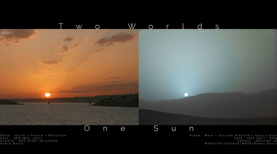 Deux mondes, un Soleil