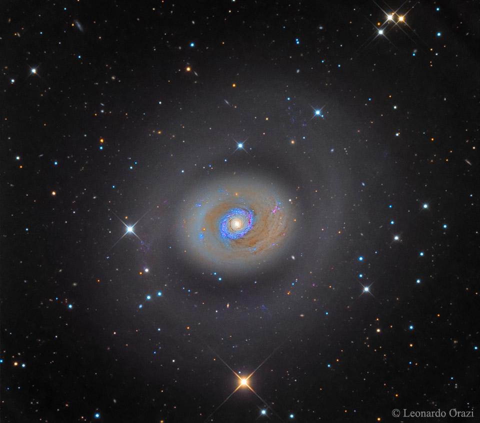 Galaxie à sursaut de formation d\'étoiles