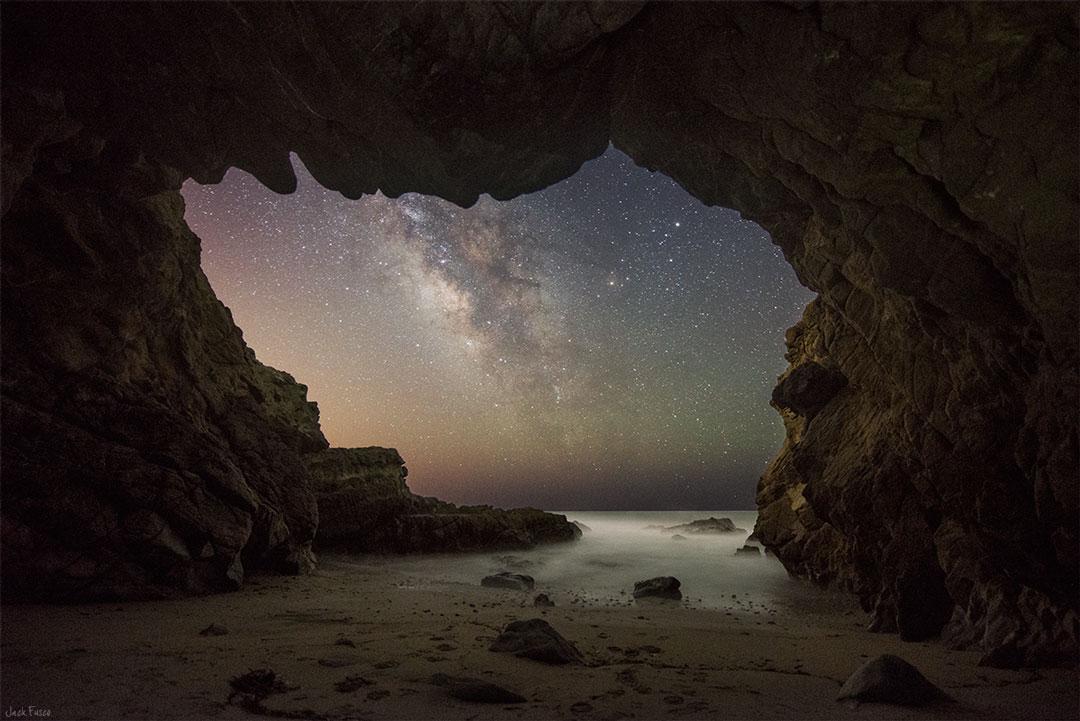 Grotte à la Voie lactée