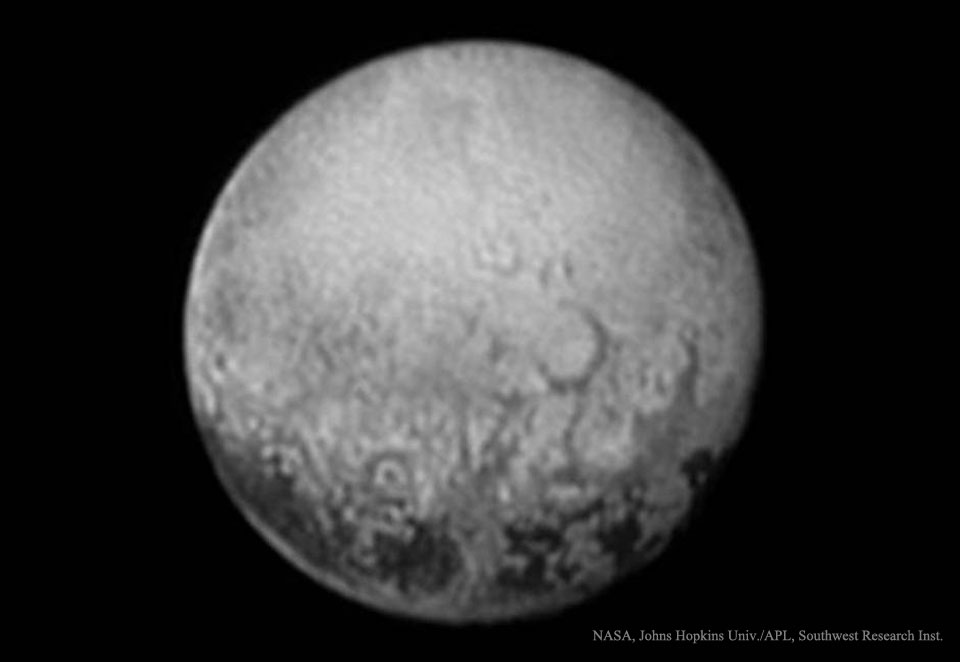 Pluton vue de Charon