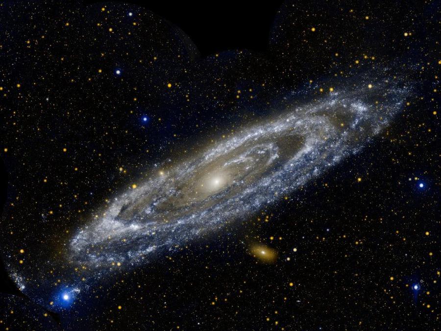 Les anneaux ultraviolet de M31