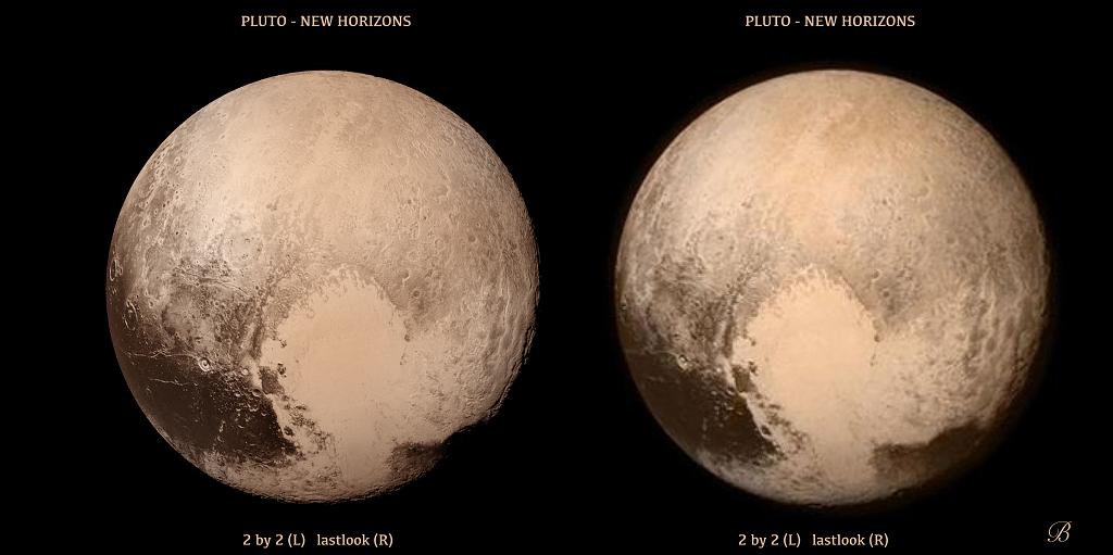Pluton en stéréo