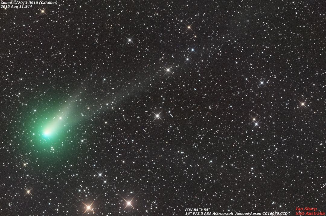 La comète Catalina sera-t-elle visible à l\'oeil nu ?