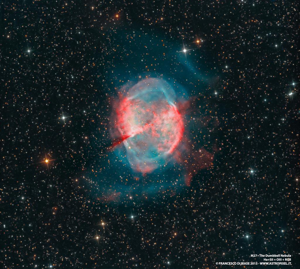 M27 n\'est pas une comète