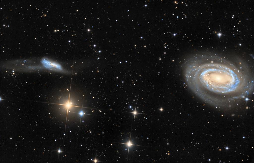 Arp 159 et NGC 4725