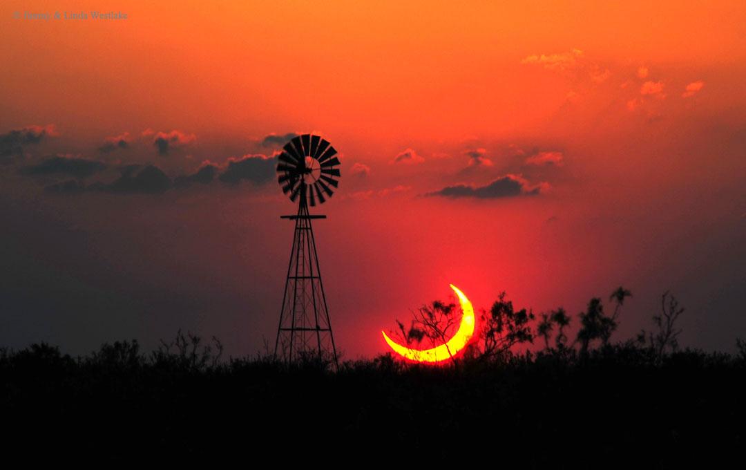 Eclipse partielle de Soleil