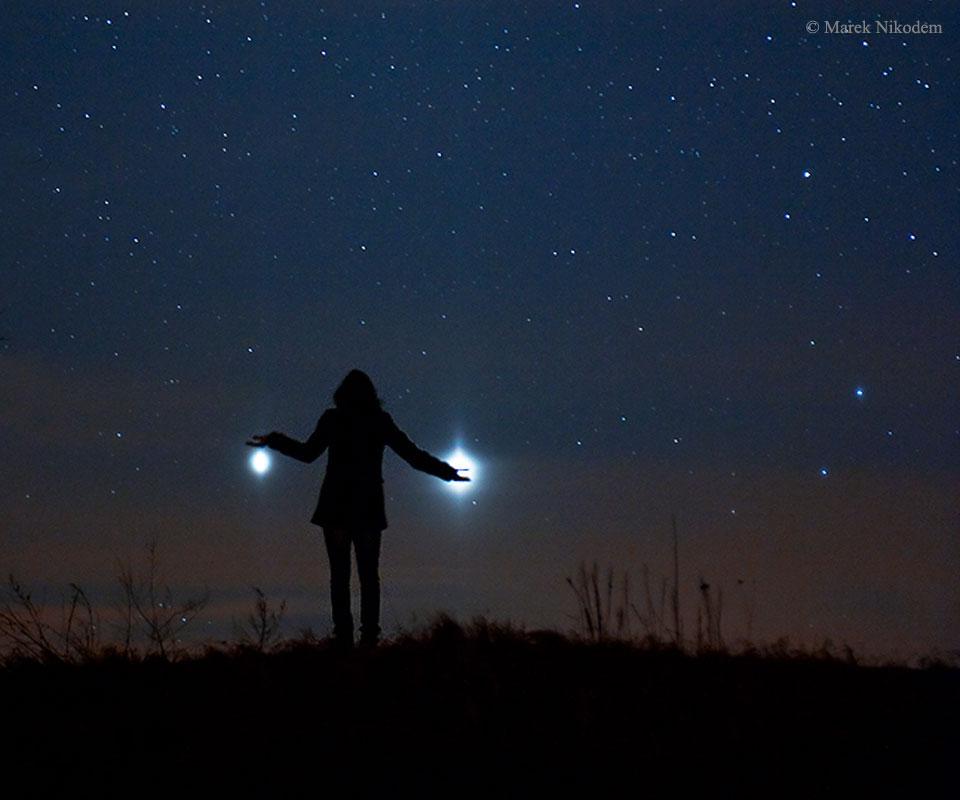 Vénus et Jupiter au plus proche