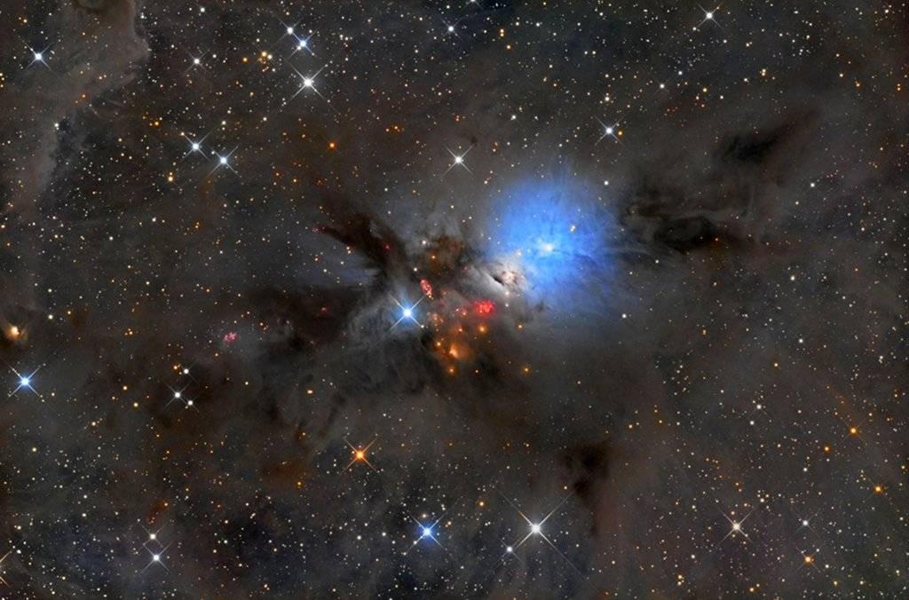 Pouponnière stellaire dans Persée