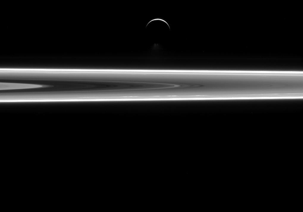 Encelade, la lune-océan de Saturne