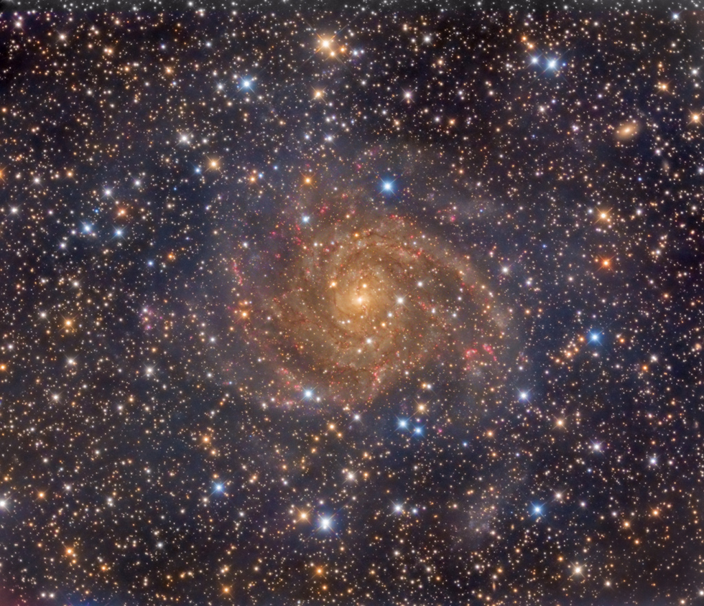IC 342, la galaxie cachée