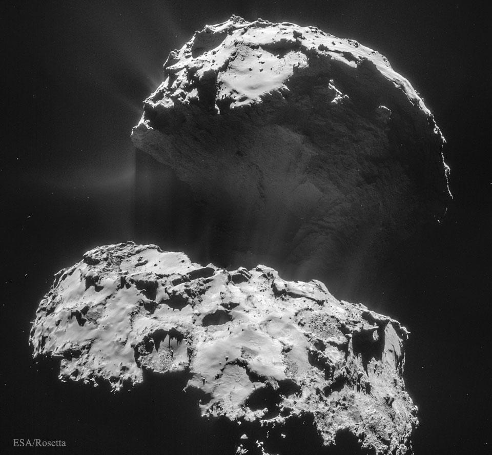À 25 kilomètres d\'une comète