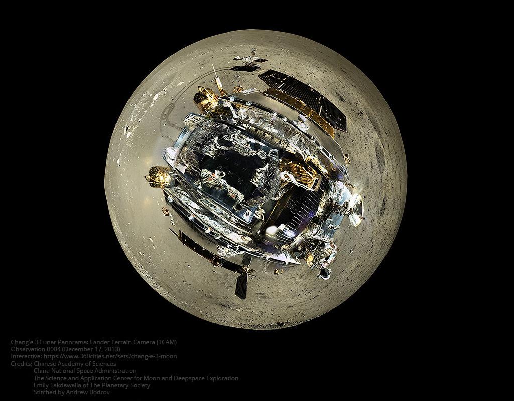 La petite planète de Yutu