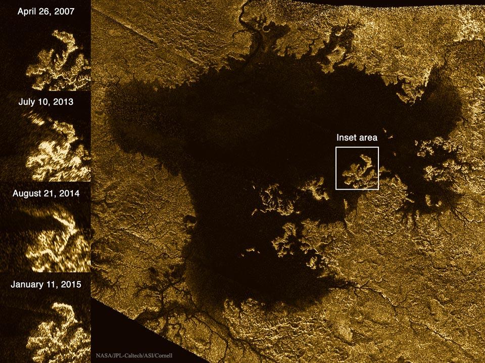 Mystérieuse disparition sur Titan