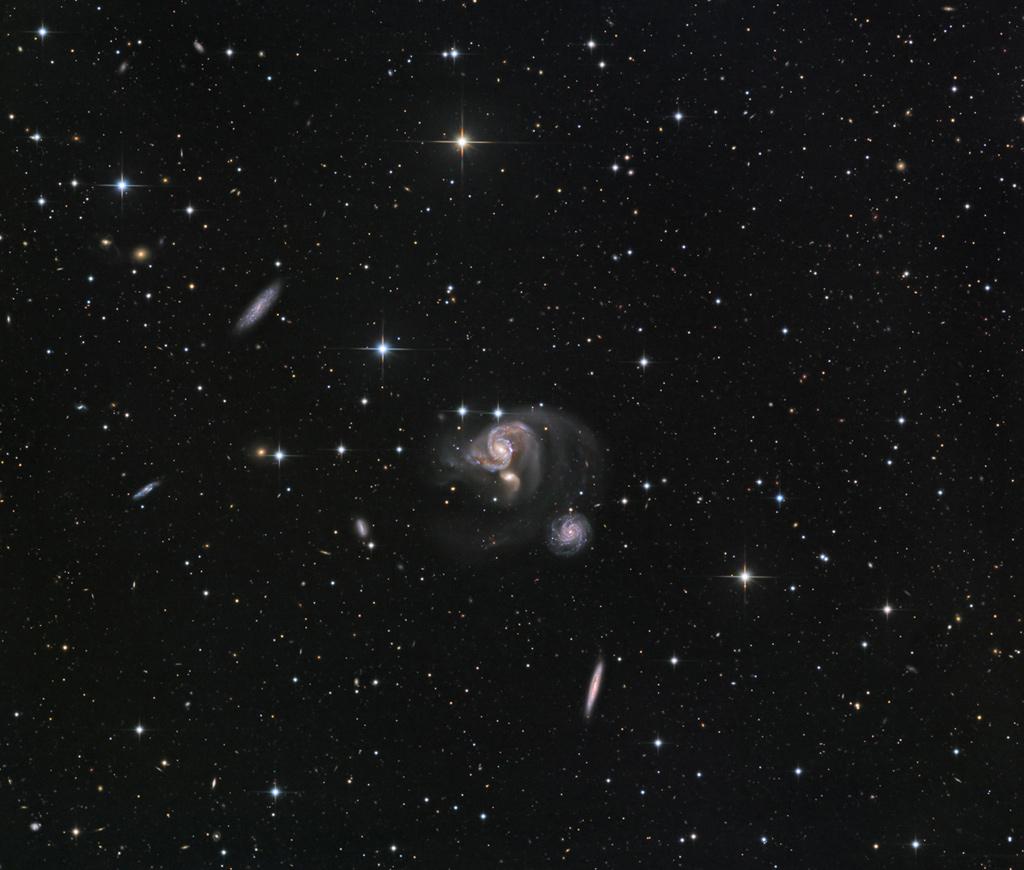Le Groupe galactique compact Hickson 91