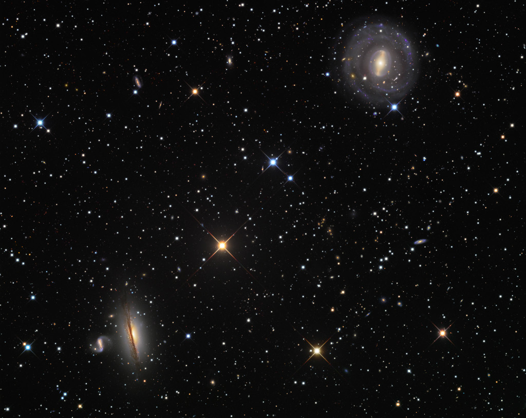 NGC 5078 et quelques amis