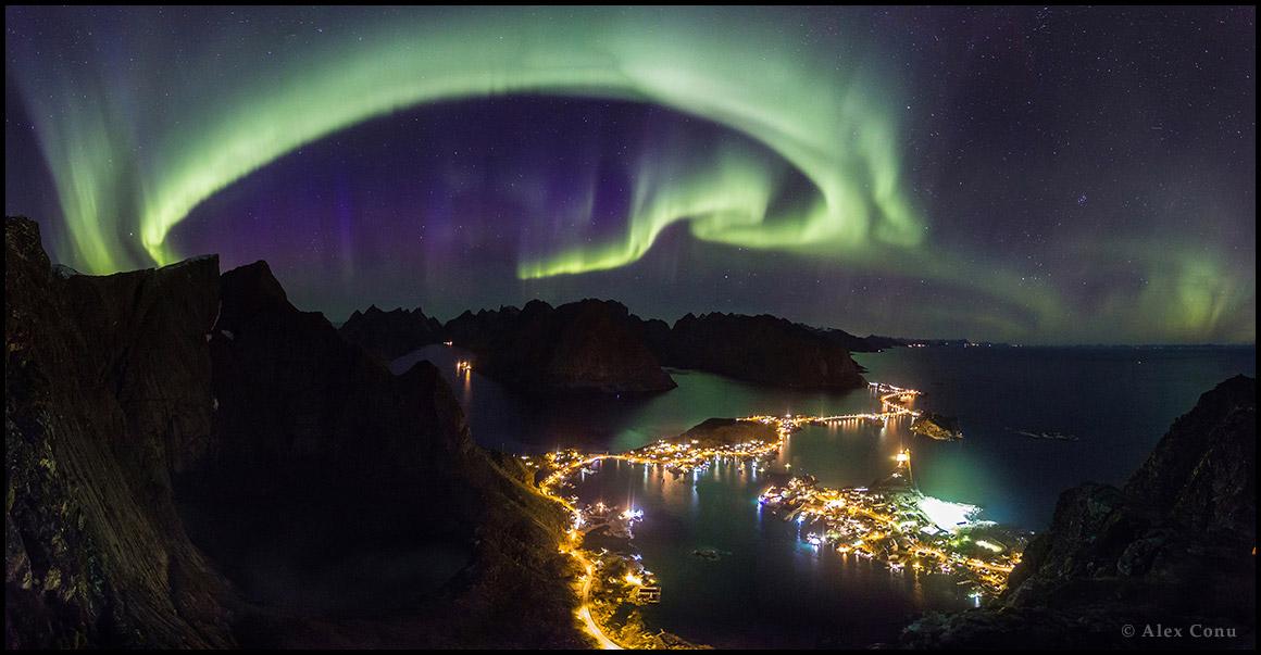 Aurores polaires sur les Lofoten