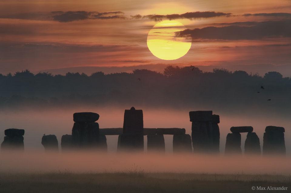 Solstice d\'été sur Stonehenge