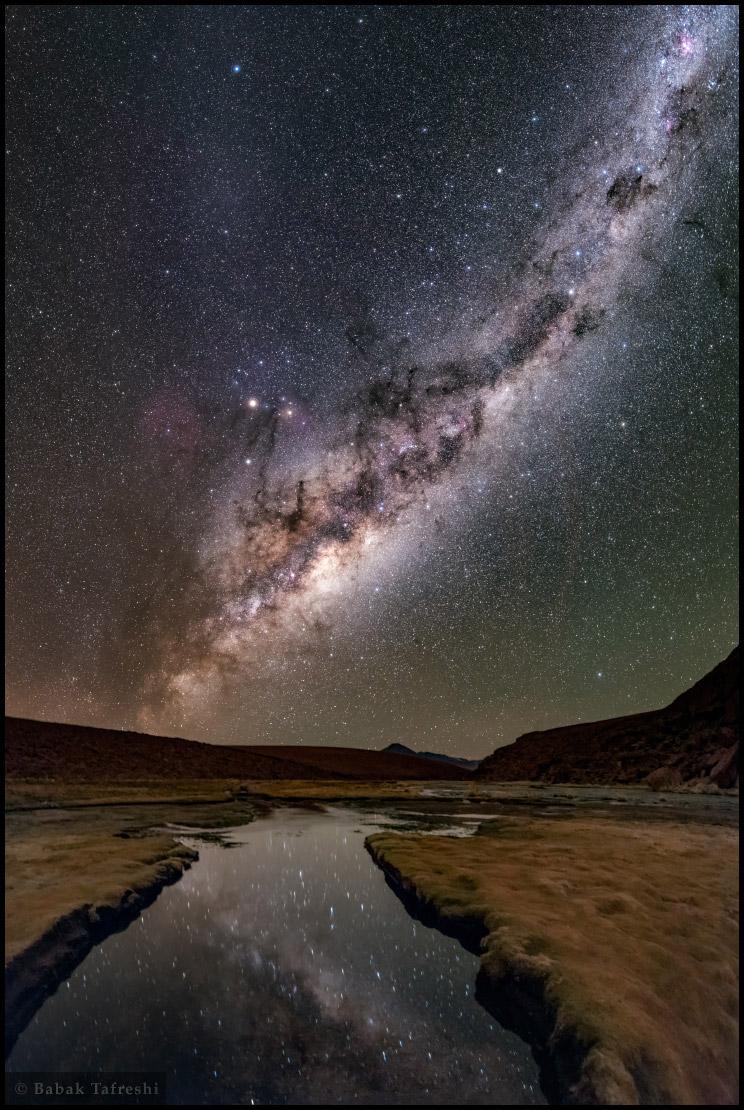 Une nuit sur l\'Altiplano chilien