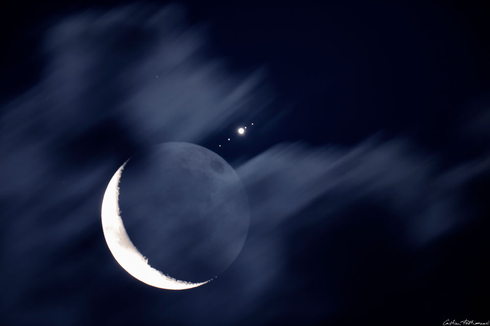 Quand Jupiter rencontre la Lune