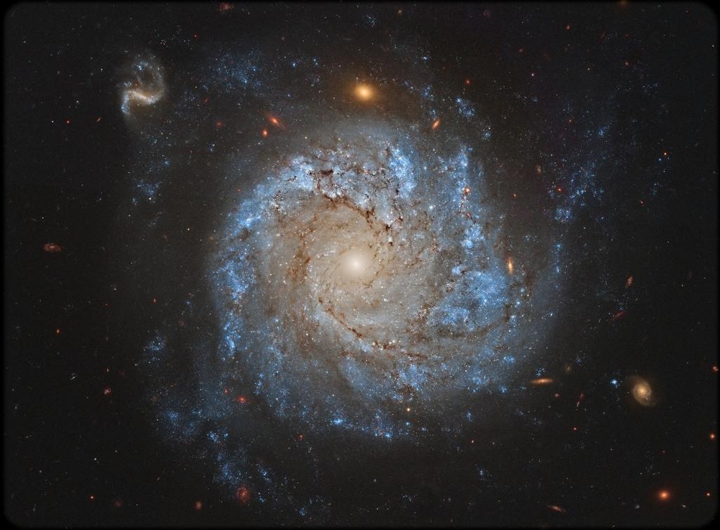NGC 1309 et des amies