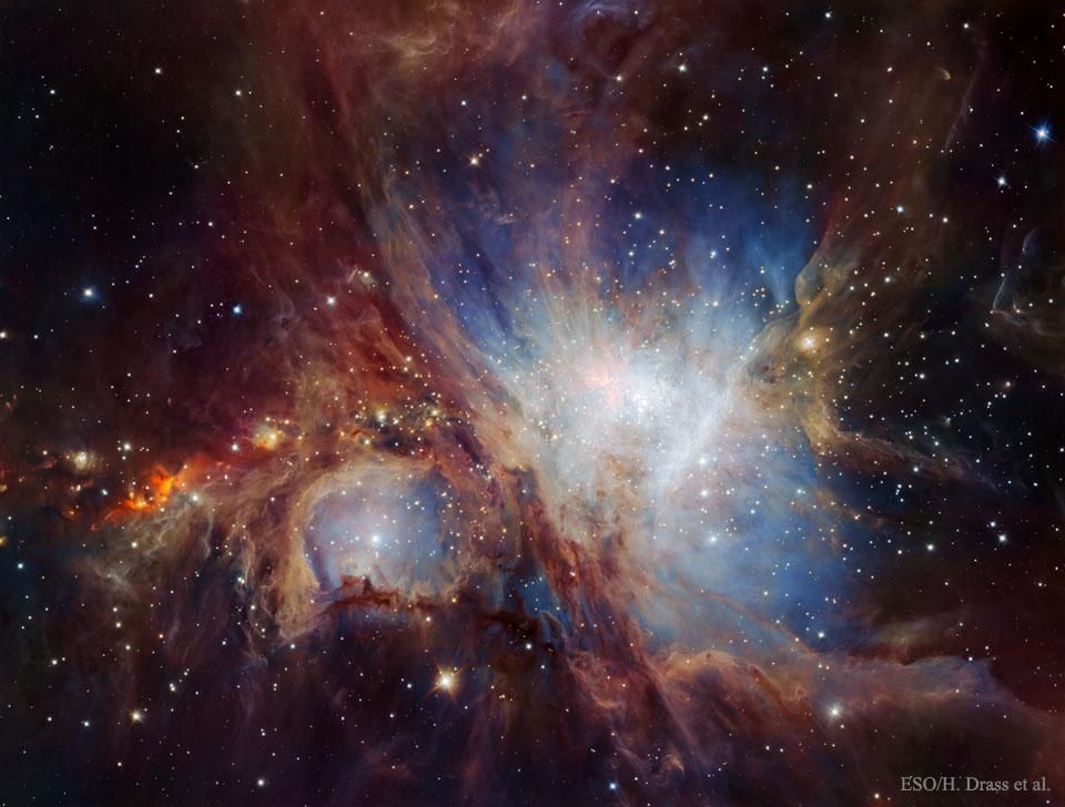 Orion en infrarouge