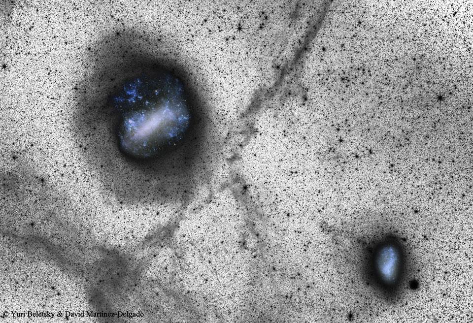 Des images profondes des nuages de Magellan indiquent la possibilité de collisions