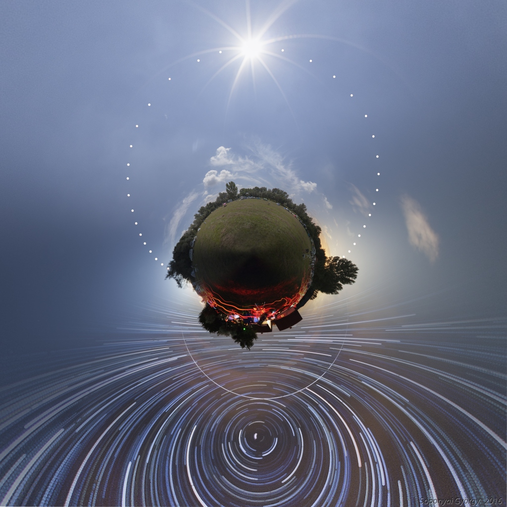 Camp Astro sur une petite planète