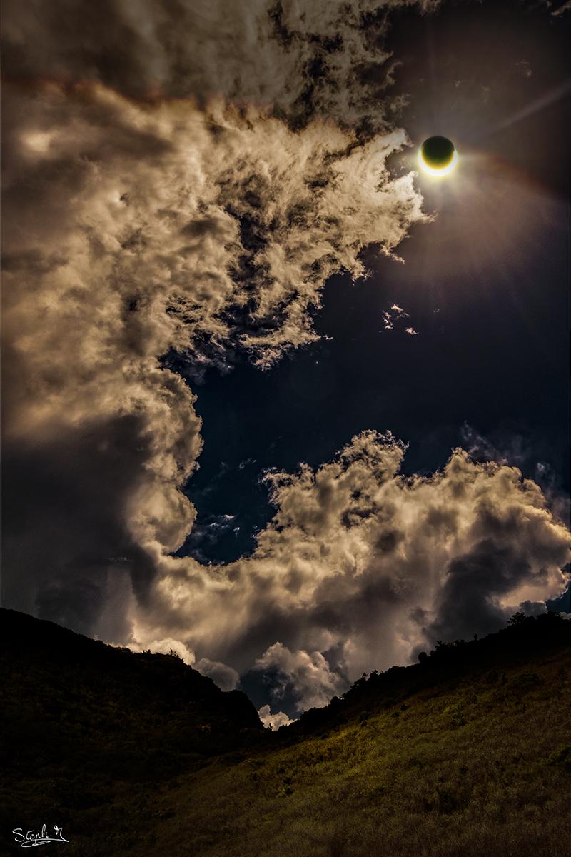 Eclipse à la Réunion